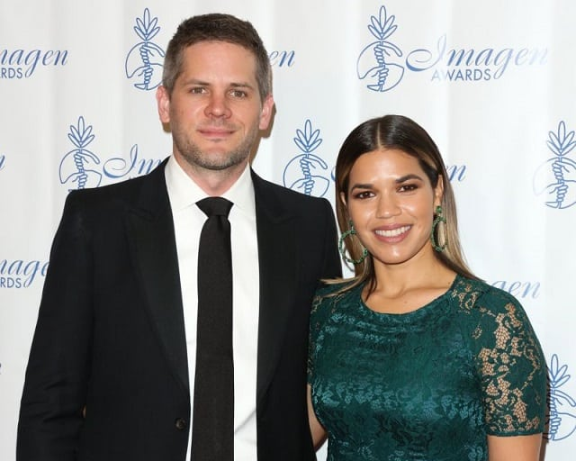 America Ferrera family, husband